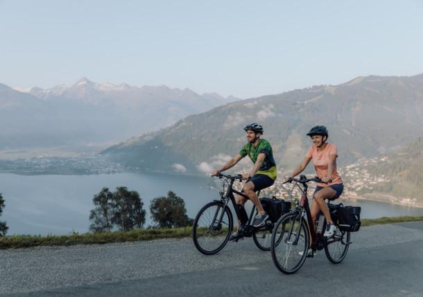 Radfahren (E-biken) in der Region Zell am See - Kaprun