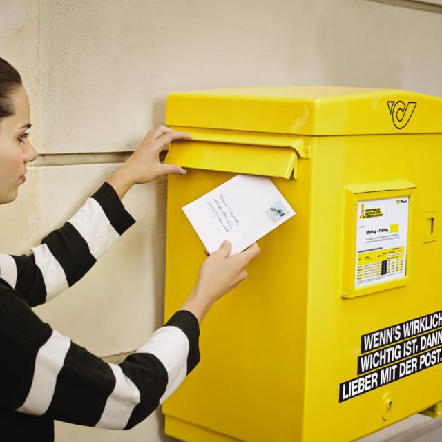 Briefkasten der Österreichischen Post AG