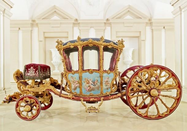 Palais Liechtenstein Garden Palace Golden Carriage