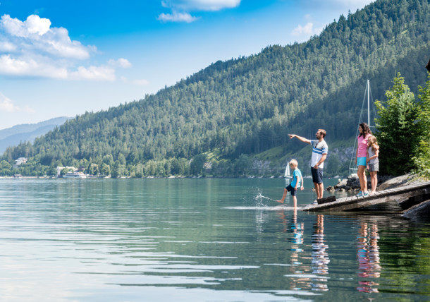 Family at the Achensee