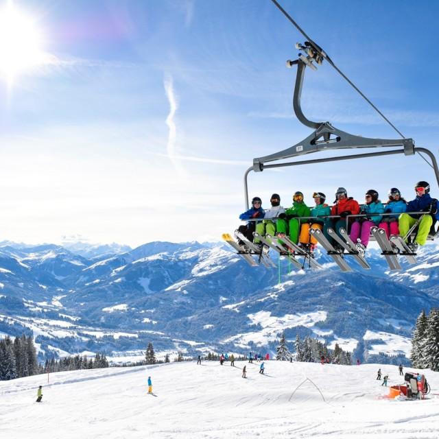 SkiWelt Wilder Kaiser Aussicht