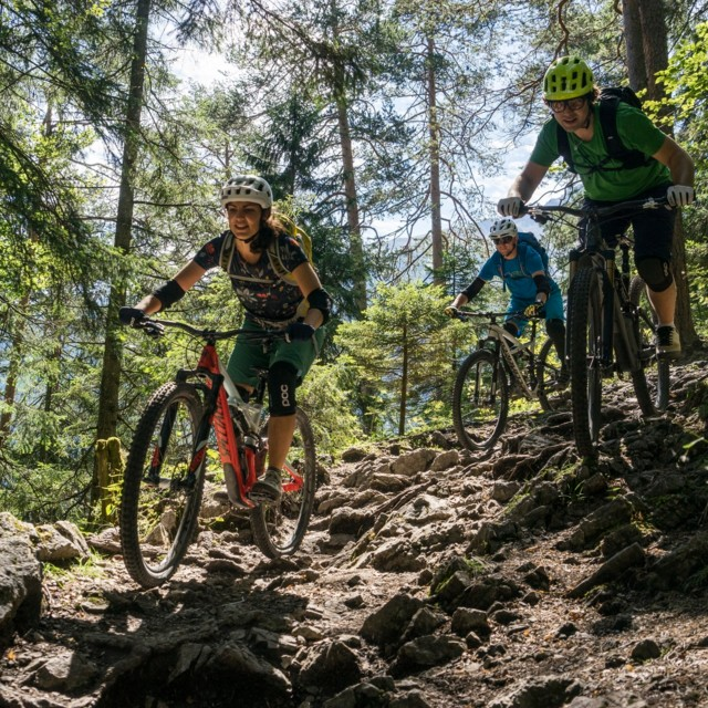 Blindsee Trail in der Tiroler Zugspitz Arena