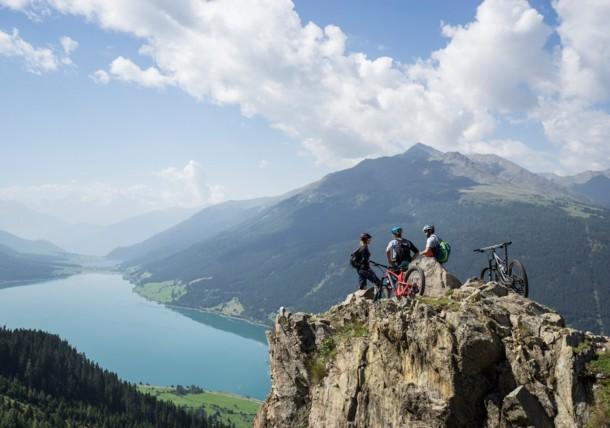 Horská cyklistika u obce Nauders v Tyrolsku, Plamort Trail