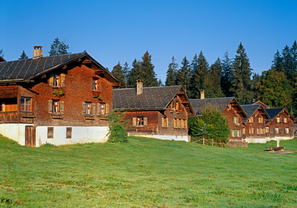 Bödele, Bregenzerwald