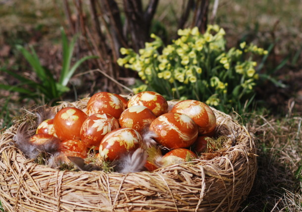 Gawirlacheier, Osterbrauch aus dem Lungau