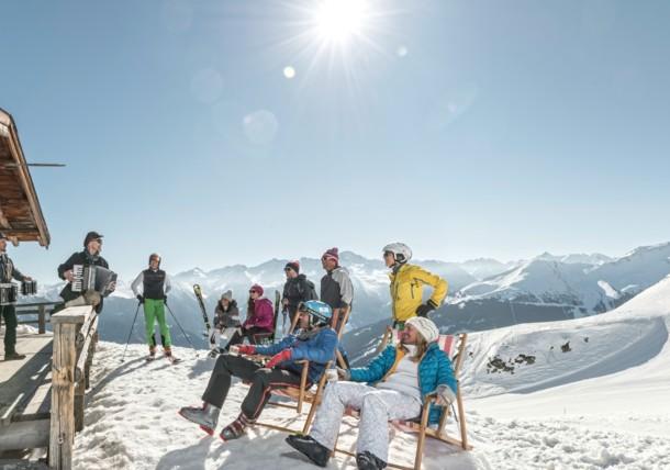 Jazzmusik im Skigebiet Gastein