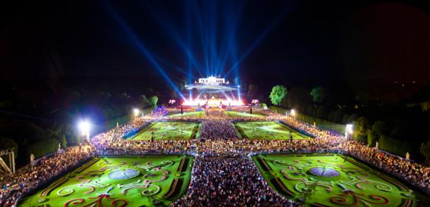 Sommernachtskonzert der Wiener Philharmoniker im Schloss Schönbrunn
