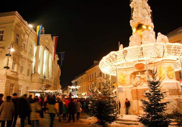 Advent v Badenu u Vídně