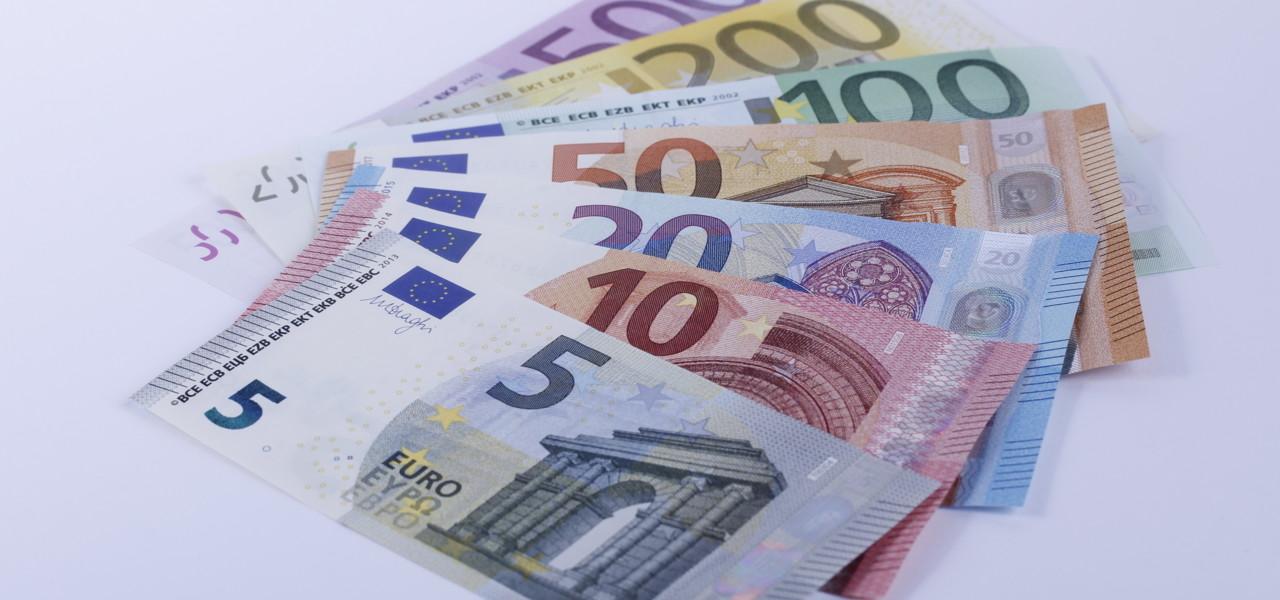 Euro-Banknoten - Währung