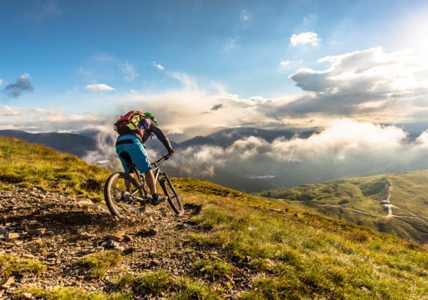Horská cyklistika v regionu Bad Kleinkirchheim v Korutanech
