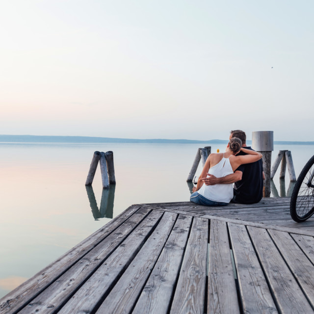 Radfahren (E-Biken) am Neusiedler See