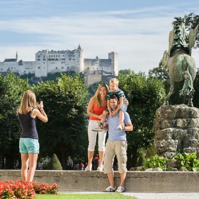 Salzburg mit der Familie