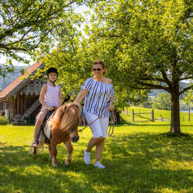 Urlaub am Bauernhof, Reiten
