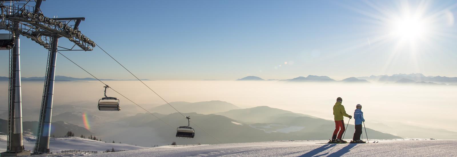 Skifahren, Gerlitzen