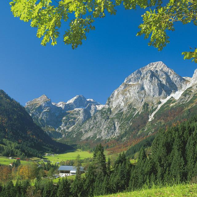 Landschaft bei Lungötz im Lammertal, SalzburgerLand