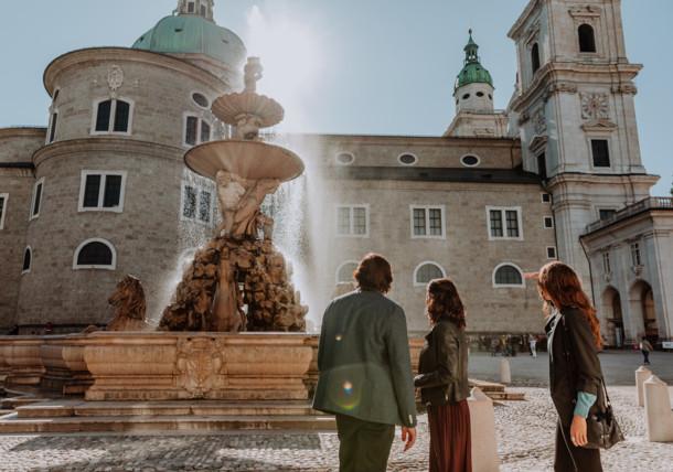 Stadt Salzburg - Domplatz