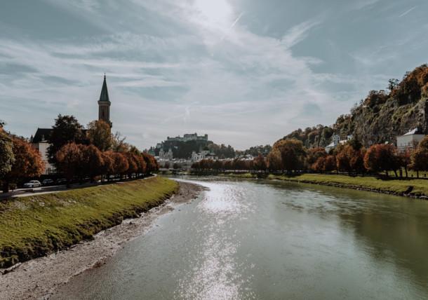 City of Salzburg - The fortress Hohensalzburg