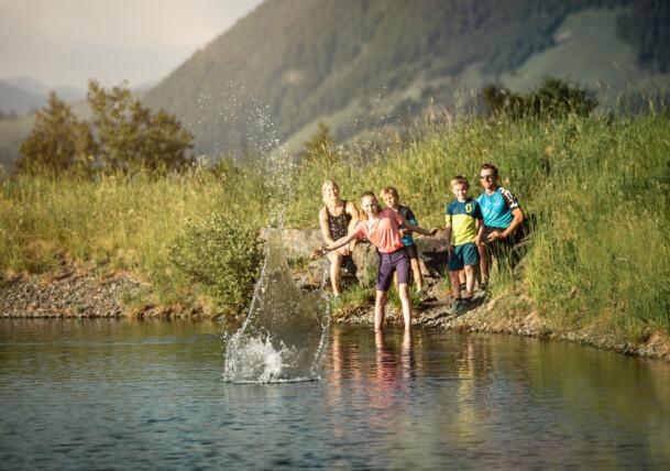 Sommer mit der Familie in St. Johann in Tirol
