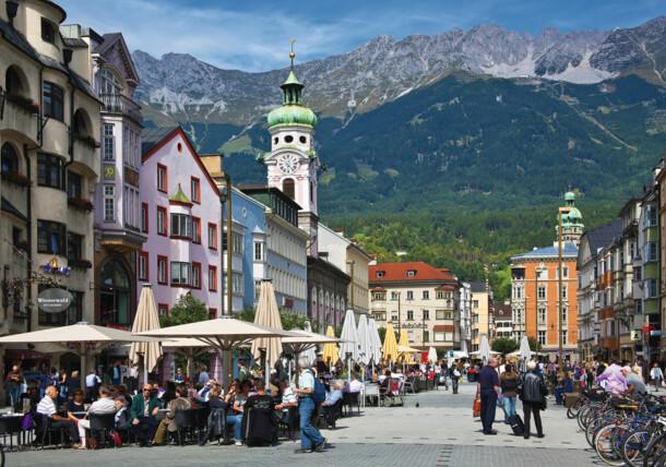 Maria-Theresien-Street Innsbruck