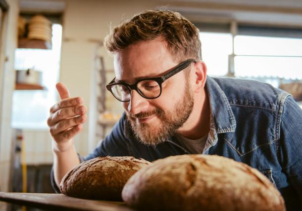 Backstube der Bäckerei in Irschen