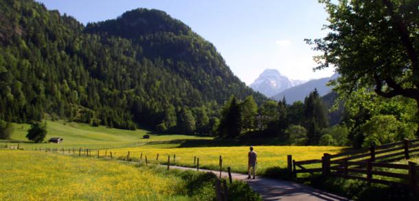 Jakobsweg von Reit nach Au im SalzburgerLand