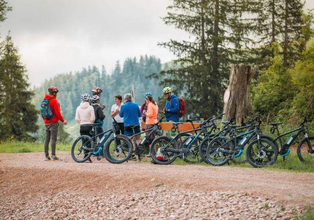 E-Bike Camp im Salzburger Saalachtal