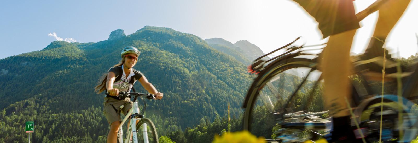 Tauernradweg zwischen Golling und Kuchl