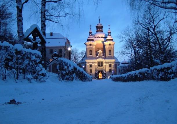 Christkindl Kirche Steyr