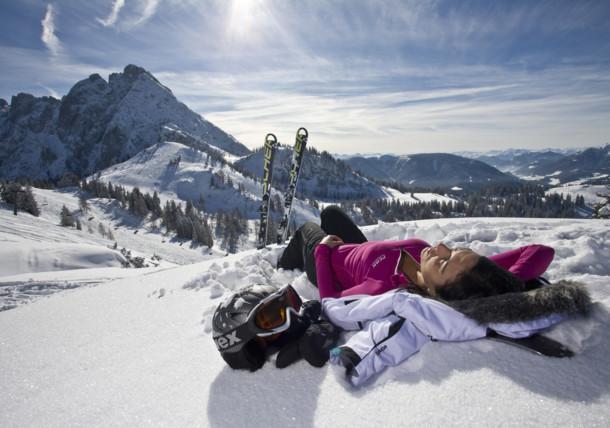 Skifahren, Dachstein West - Oberösterreich
