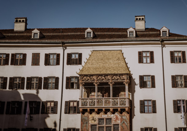 A tour around the city of Innsbruck - The Golden Roof