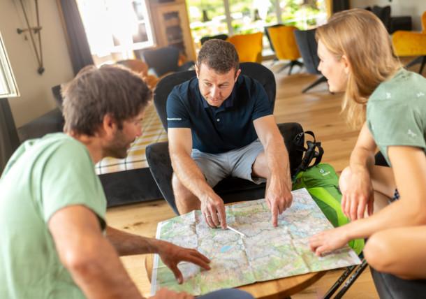 Hledání v turistické mapě