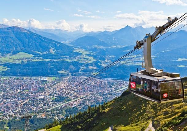 Nordkettenbahn Cable Car in Innsbruck