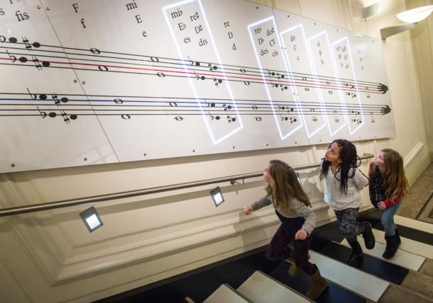 Stiegenspiel im Haus der Musik