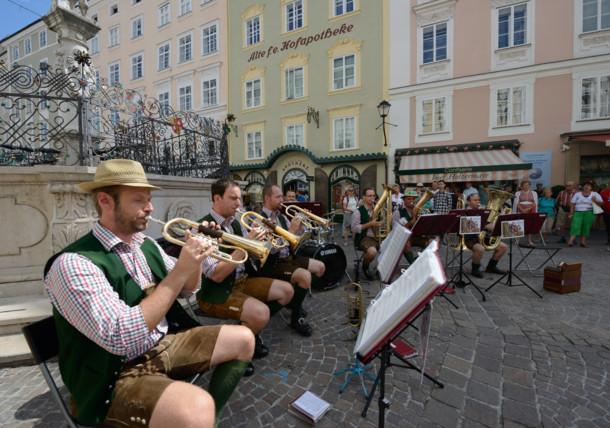 Brass music concert in Salzburg