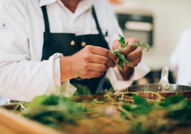 Kochen mit Kräutern