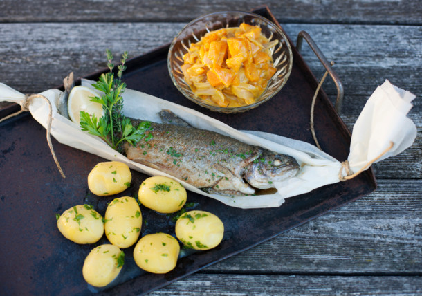 Culinary delights - fish from the oven
