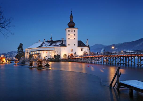 Gmunden am Traunsee - Schlösser Advent