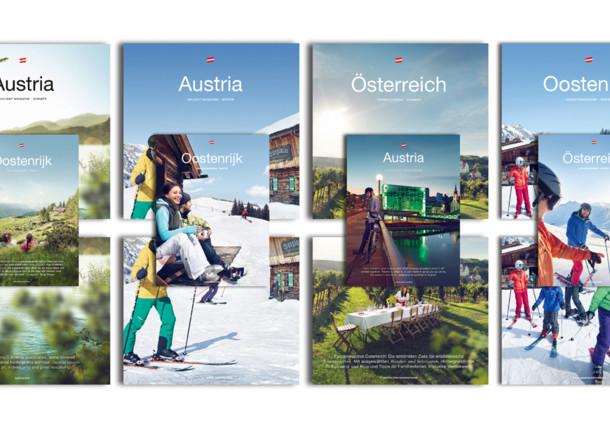 Broschüren und Prospekte der Österreich Werbung
