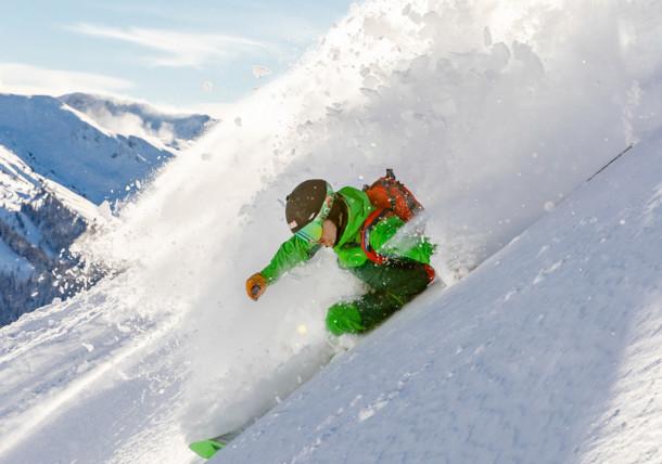 Saalbach winter freeride