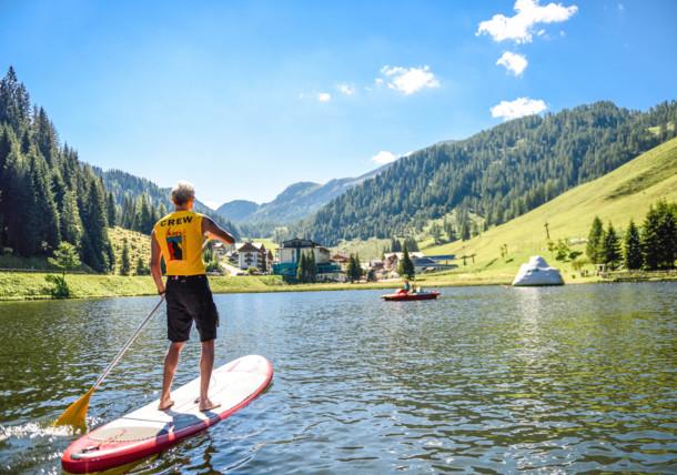 Altenmarkt Zauchensee - stand up paddle boarding