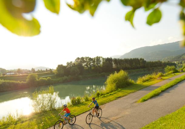 Rodzinne wycieczki rowerowe, Karyntia