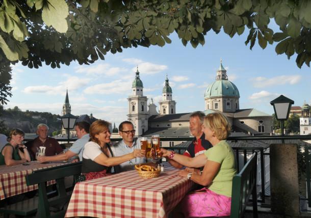 Stieglkeller, beer culture in Salzburg
