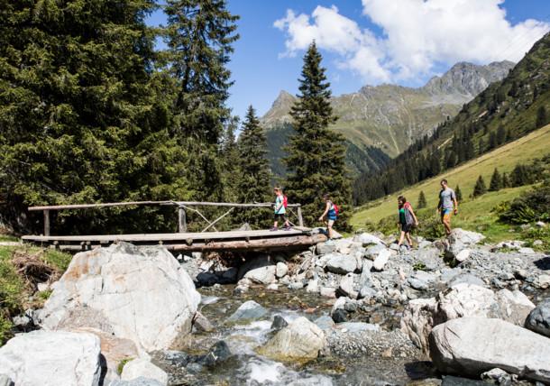 Children's hiking trail in Montafon