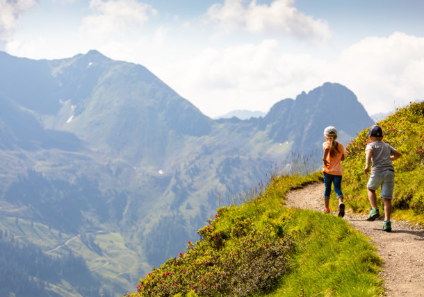 Hiking in the Alpbach Valley