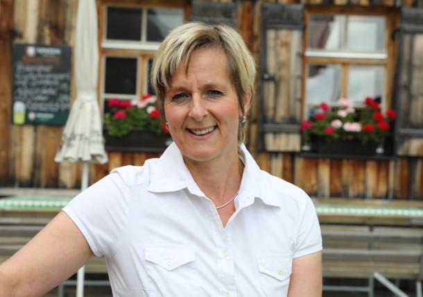 Margit Unterwurzacher, a Johannishütte háziasszonya