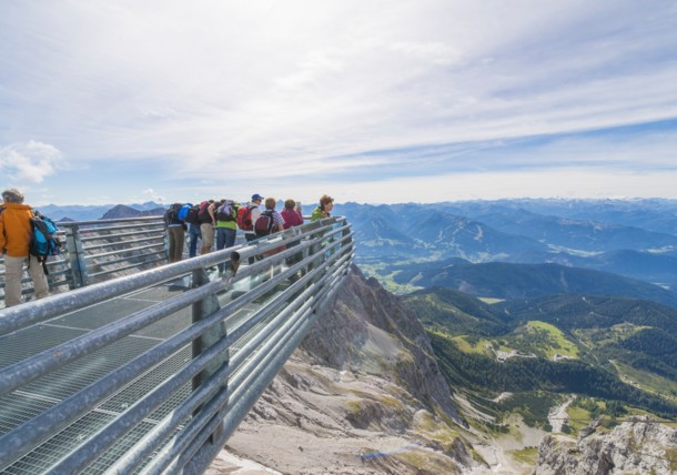 Dachstein Skywalk kilátó