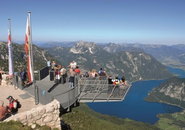 Dachstein mountain: 5fingers viewing platform