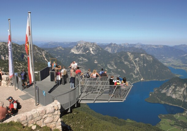 Dachstein mountain: 5fingers viewing platform