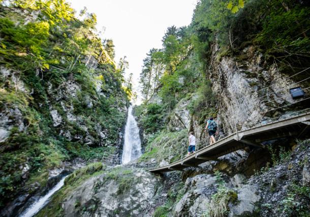 Eifersbach Waterfall