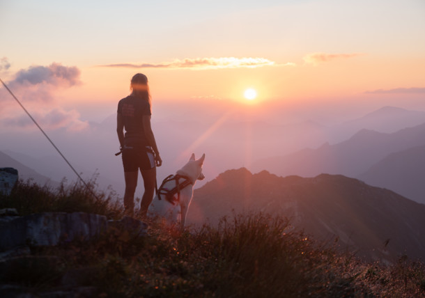 Sunrise in the Hohe Tauern National Park